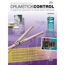 Alfred Fundamental Drumstick Control Book & CD (00-42257)