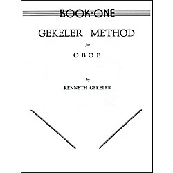 Alfred Gekeler Method for Oboe Book I (00-EL00081)