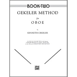 Alfred Gekeler Method for Oboe Book II (00-EL00095)