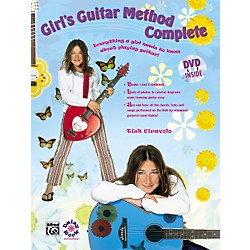 Alfred Girls Guitar Complete Book, DVD and T-Shirt (00-29139)