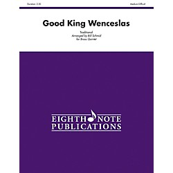 Alfred Good King Wenceslas Brass Quintet Score & Parts (81-BQ11367)