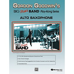 Alfred Gordon Goodwin's Big Phat Band Play-Along Series Alto Saxophone Book & CD (00-25244)