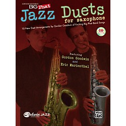 Alfred Gordon Goodwin's Big Phat Jazz Saxophone Duets Book & CD (00-30676)
