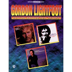 Alfred Gordon Lightfoot Guitar Anthology Series Guitar Tab Book (00-PG9632)