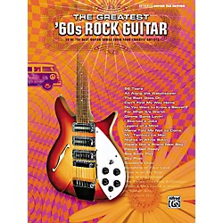 Alfred Greatest '60s Rock Guitar Tab Songbook (00-27723)