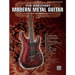 Alfred Greatest Modern Metal Guitar (701558)