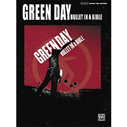 Alfred Green Day Bullet in a Bible Guitar Tab Songbook (322004)