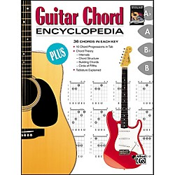 Alfred Guitar Chord Encyclopedia (00-4432)