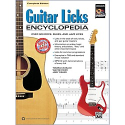 Alfred Guitar Licks Encyclopedia Book & CD (00-38808)