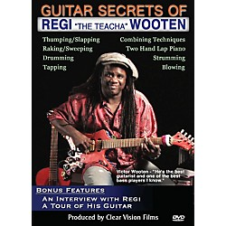 "Alfred Guitar Secrets of Regi ""The Teacha"" Wooten DVD (98-38845)"