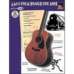 Alfred Guitar Tab: Easy Folk for Kids Book/CD (07-1061)
