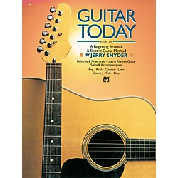 Alfred Guitar Today Book 1 (00-346)