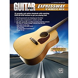 Alfred Guitar World - Expressway to Acoustic Rock Easy Guitar TAB Book & 2 CDs (00-37259)