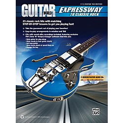 Alfred Guitar World: Expressway to Classic Rock Book & 2 CDs (00-37258)