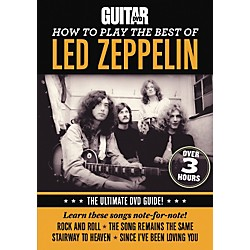 Alfred Guitar World How To Play The Best Of Led Zeppelin DVD (56-37052)