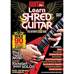 Alfred Guitar World Learn Shred Guitar DVD (56-31979)
