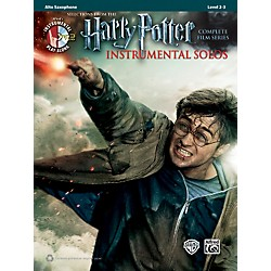 Alfred Harry Potter Instrumental Solos Alto Sax - Book/CD (00-39217)