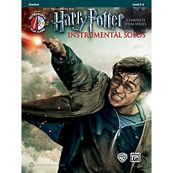 Alfred Harry Potter Instrumental Solos Clarinet Book & MP3 CD (00-39214)