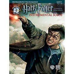 Alfred Harry Potter Instrumental Solos for Strings - Cello (Book/CD) (00-39241)