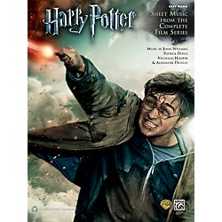 Alfred Harry Potter Sheet Music from the Complete Film Series Easy Piano Book (00-39075)