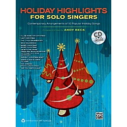 Alfred Holiday Highlights for Solo Singers Book & CD (00-37948)