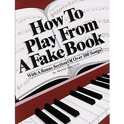 Alfred How to Play From a Fake Book (00-PF0480)