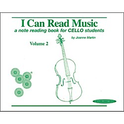 Alfred I Can Read Music for Cello, Volume 2 Book (00-0429)
