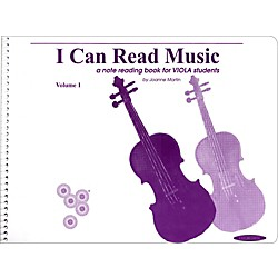 Alfred I Can Read Music for Viola, Volume 1 Book (00-0440)