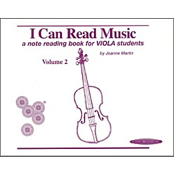 Alfred I Can Read Music for Viola, Volume 2 Book (00-0428)