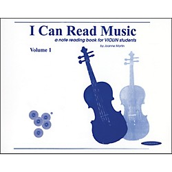 Alfred I Can Read Music for Violin, Volume 1 Book (00-0439)