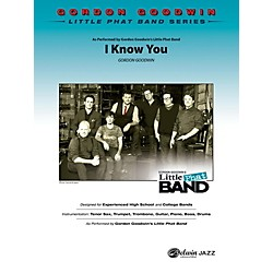 Alfred I Know You Jazz Band Grade 4 Set (00-40391)