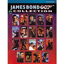 Alfred James Bond 007 Collection Alto Sax Book & CD (00-IFM0036CD)