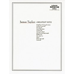 Alfred James Taylor Greatest Hits Guitar Tab Book (00-GF0623)