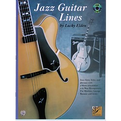 Alfred Jazz Guitar Lines Book/CD (00-F3231GTXCD)