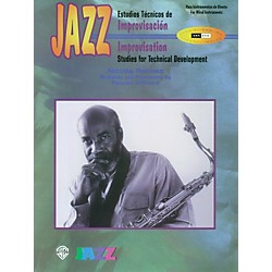 Alfred Jazz Improvisation: Studies for Technical Development for Woodwinds Book (00-SB9802)