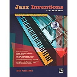 Alfred Jazz Inventions for Keyboard Book & CD (00-22695)