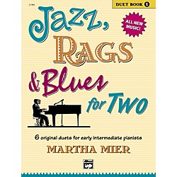 Alfred Jazz Rags & Blues for Two Book 1 (00-21386)