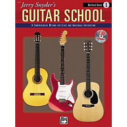 Alfred Jerry Snyder's Guitar School Method Book 1 (00-17880)