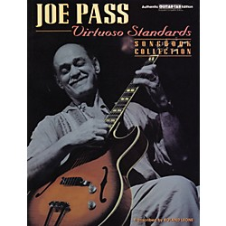 Alfred Joe Pass Virtuoso Standards Guitar Tab Book (00-0208B)