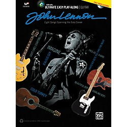 Alfred John Lennon - Ultimate Easy Guitar Play-Along Book & DVD (00-42303)