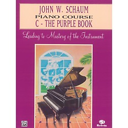 Alfred John W. Schaum Piano Course C The Purple Book C The Purple Book (00-EL00168A)