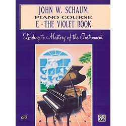 Alfred John W. Schaum Piano Course E The Violet Book (00-EL00170A)