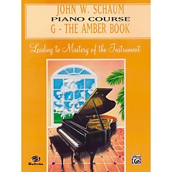 Alfred John W. Schaum Piano Course G The Amber Book (00-EL00200A)