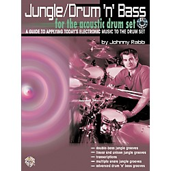 Alfred Jungle Drum 'n' Bass (Book/CD) (00-0570B)