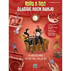 Alfred Just for Fun: Classic Rock Banjo Tab Book (322272)