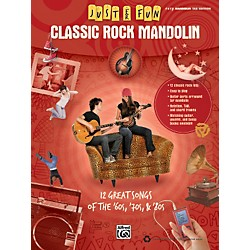 Alfred Just for Fun: Classic Rock Mandolin (Book) (322271)