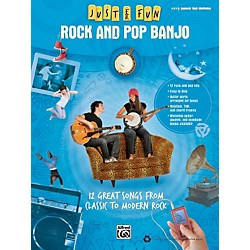 Alfred Just for Fun: Rock and Pop Banjo (Book) (322280)