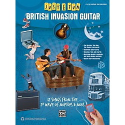 Alfred Just for Fun British Invasion Guitar Book (00-42565)