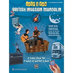 Alfred Just for Fun British Invasion Mandolin Book (00-42568)
