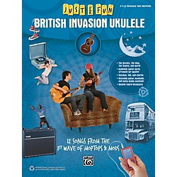 Alfred Just for Fun British Invasion Ukulele Book (00-42566)